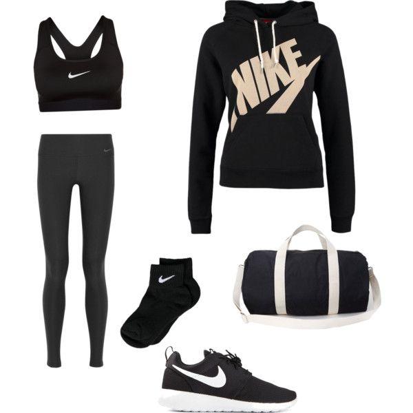 """Workout outfit"" by priya-rai on Polyvore"
