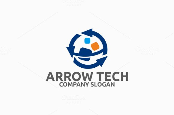 Arrow Tech Logo by@Graphicsauthor