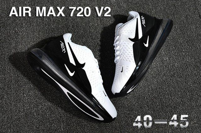 Men Nike Air Max 720 V2 Running Shoes KPU 2020 For Sale