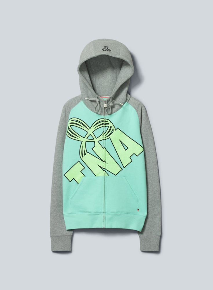 TNA Pacific Hoodie, now available at Aritzia.com. #pastel