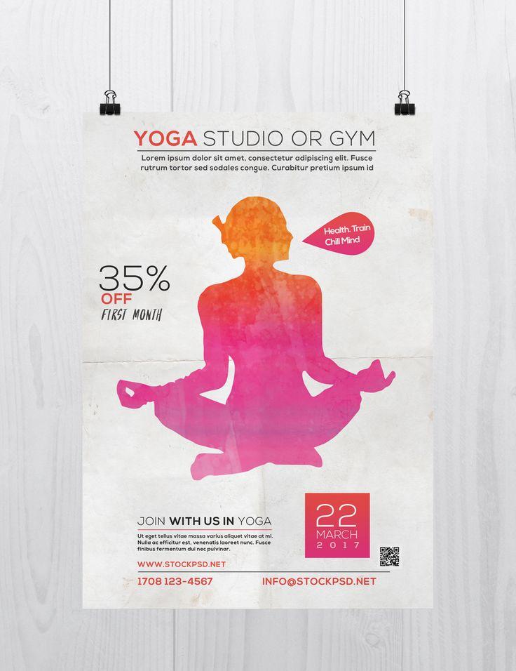 24 best Yoga flyer images on Pinterest Yoga flyer, Ruffles and - yoga flyer