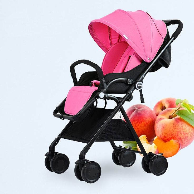 Highprofile twoway light baby stroller can sit fast