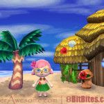 Animal Crossing New Leaf Hula Girl costume