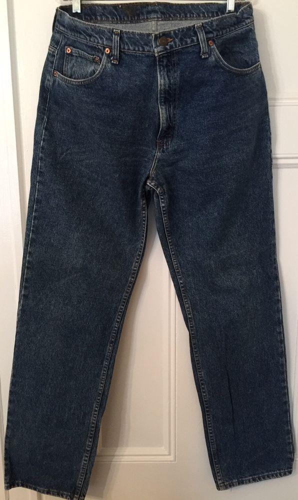Levi's 506 -0290 Jeans Regular Fit Men's W38 L34 38 x 34 Light Wash Straight Leg #Levis #ClassicStraightLeg