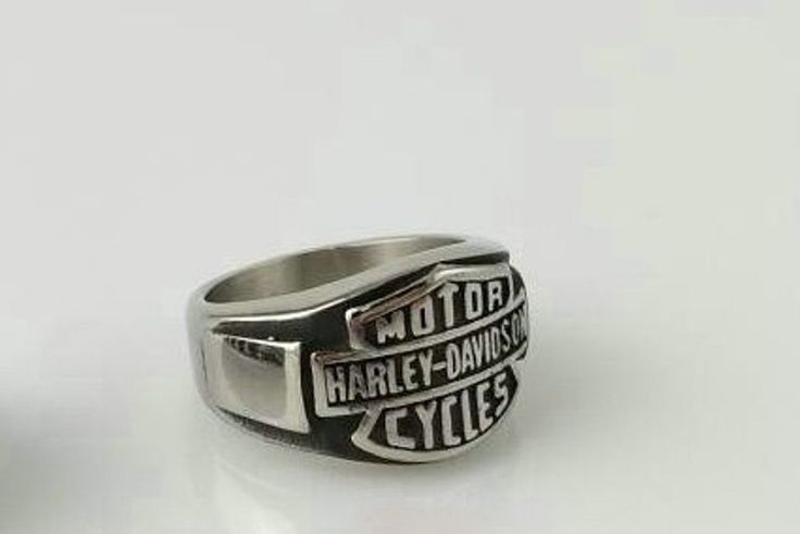 Bague harley davidson ebay bagues pinterest harley for Harley davidson jewelry ebay
