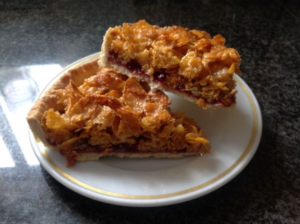 Cornflake and Jam Tart
