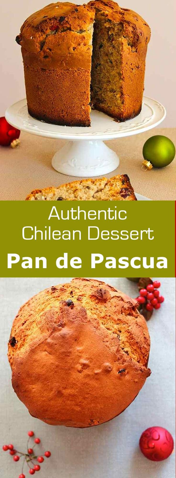 Pan de Pascua is a Chilean spiced cake with dried fruits and nuts that is…