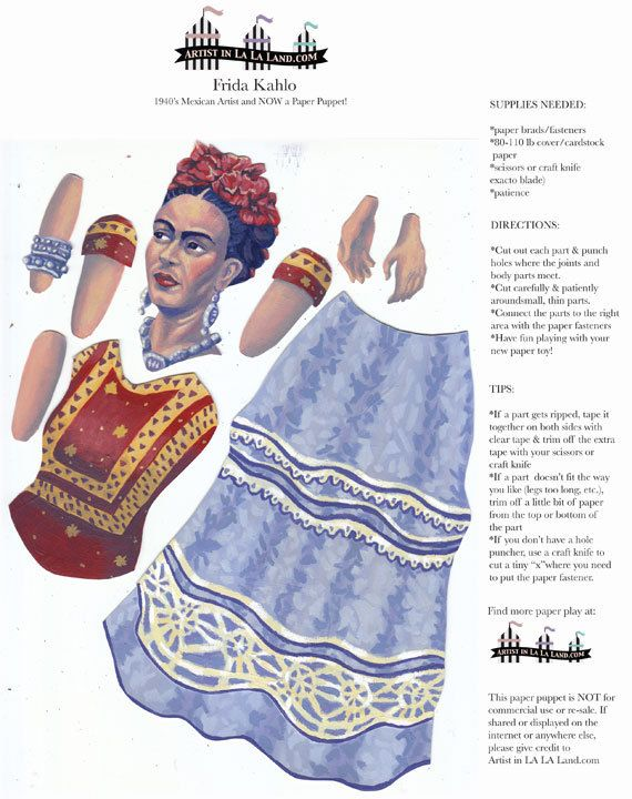 79 best Art - Paper Dolls for Animation images on Pinterest ...