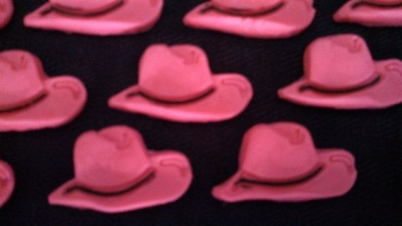 Cowgirl Cake Topper, Cowboy Hat Cupcake Toppers, Cowboy Hat Edible Cake Topper, Western Cupcake Toppers, Edible Cowboy Hat