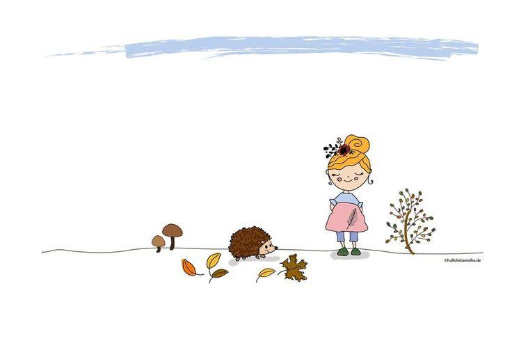 Igel Isi und der Winterschlaf. Eine Lerngeschichte im Herbst für Kinder und Kleinkinder in Kita und Vorschule.