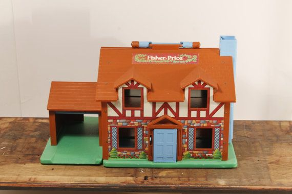 Fisher Price House Doll House Fisher Price by ClockworkRummage