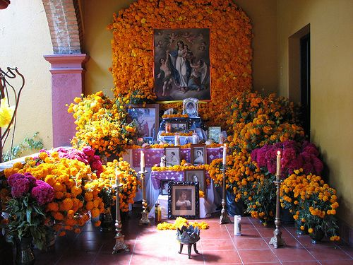 A Oaxacan Day of the Dead altar