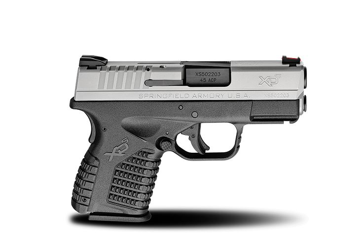 XD-S® 3.3″ Single Stack .45ACP caliber #pistol in Bi-Tone from Springfield Armory® #firearm #handgun