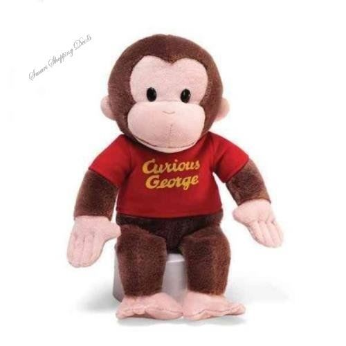Curious George Plush Stuffed Monkey Animal 12 inches Kids Toys Baby Toy Gift  #GUND