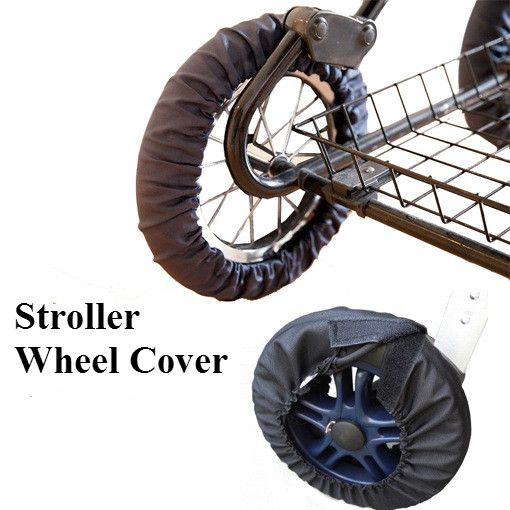 Baby Stroller Accessories Baby Washable Anti-Stain Wheel Cover for Stroller