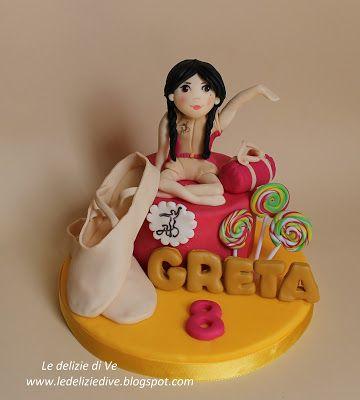 Le Delizie di Ve: DANZA MODERNA CAKE TOPPER