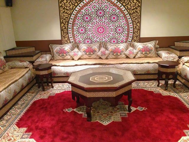 Beaux Salons Chic Marocains Des Images Luxe Album De