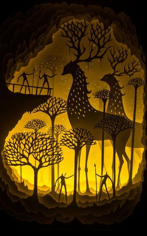 Fairytales Come To Life In New Papercut Light Boxes