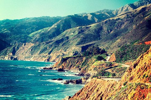 Ride the California coastline on Hwy 1 from Monterey to San Simeon. | 12 Incredible Roads Every Motorcyclist Should Ride In Their Lifetime
