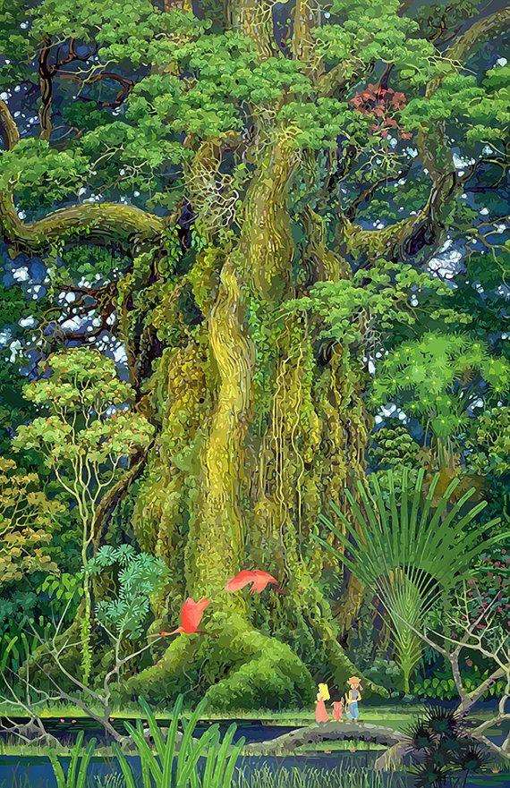 The Mana Tree from Secret of Mana.