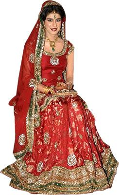Indian Wedding Dresses | INDIAN BRIDAL LEHNGA DRESS