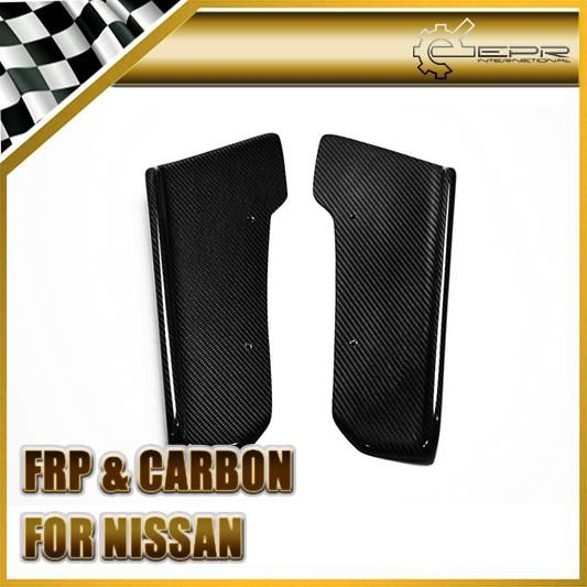 [Visit to Buy] Car-styling For Nissan 2009-2010 R35 GTR Carbon Fiber J-Style Rear Bumper Extension #Advertisement