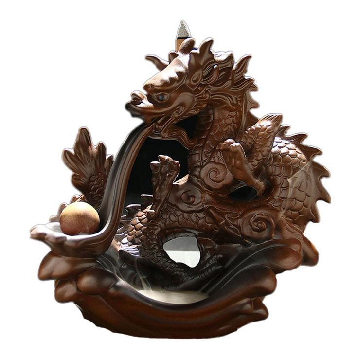 MOYLOR Ceramic Crafts Dragon-shaped Incense Burner    #香炉#incense burner#Quemador de incienso#Благовонная горелка#Br?leur d'encens#R?uchergef??#moylor