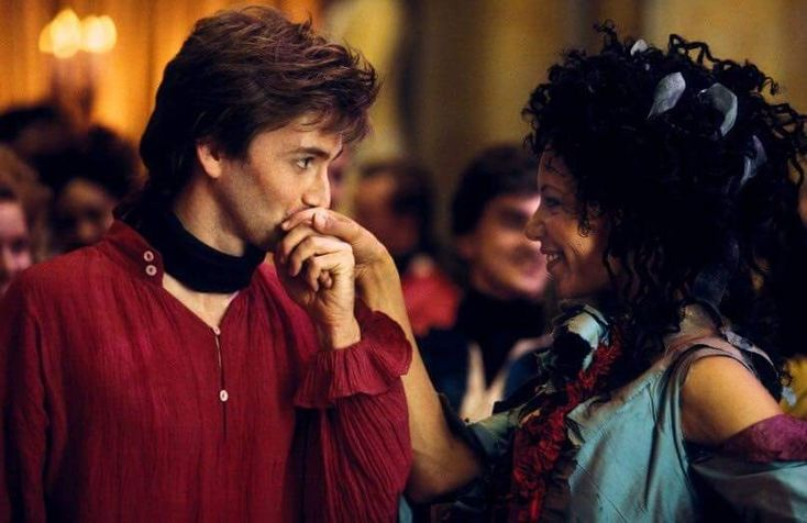 David Tennant and Nina Sosanya in Casanova
