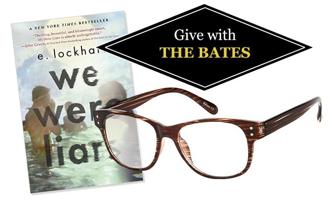 Best-Selling Novels and Reading Glasses of 2014: We Were Liars by E. Lockhart and the Bates