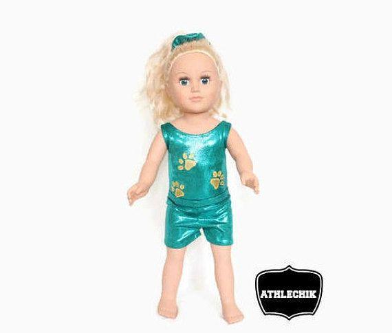 18 inch doll clothes 3 pieces set gymnastics leotard dance