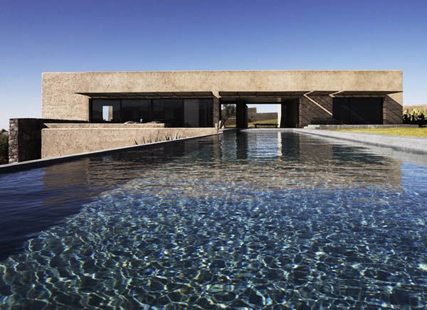 A Villa K foi projetada com um verdadeiro respeito para com a sua paisagem. O terreno, uma faixa Norte-Sul ao longo de rochas e areia, com um declive em ambos os lados, suave para o sul e ín...