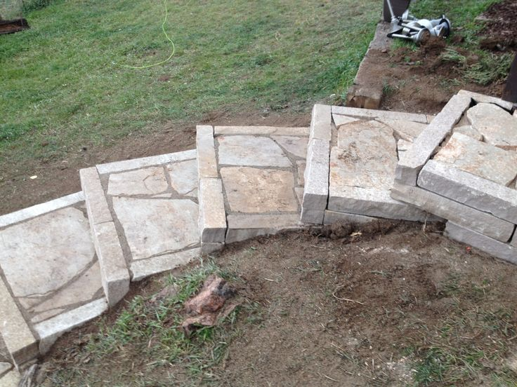 Charming Images Of Flagstone Stairs   Find With Google