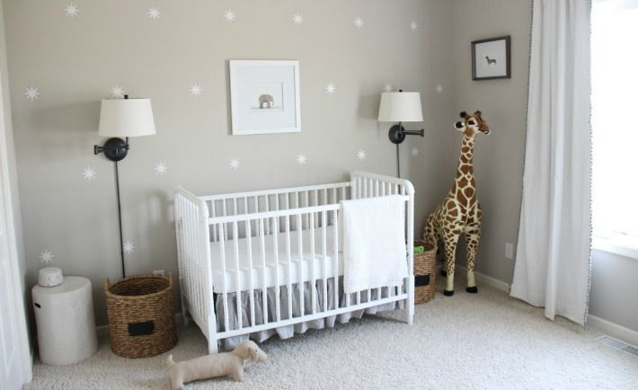 Project Nursery - Gender Neutral Gray Zoo-Themed Nursery - Project Nursery