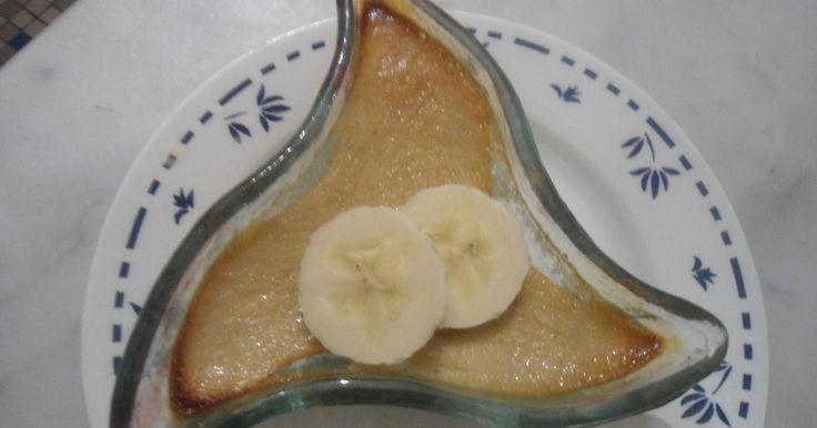 Recette - Crème à la banane rapide | 750g