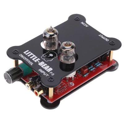 Little-Bear P5 -  $27.99🔥 HiFi Tube P5 Stereo Audio Headphone Amplifier Preamplifier BLACK for Smartphone / Computer / CD / DVD / MP3  #HiFi, #Tube, #LittleBear, #усилитель, #gearbest, #Headphone, #Amplifier, #Preamplifier, #усилитель, #наушники 7158