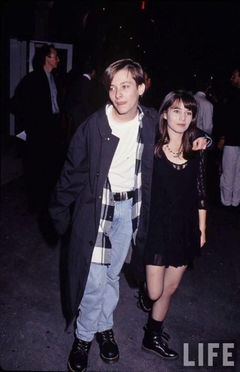 Edward Furlong and Jacqueline Domac, 1993