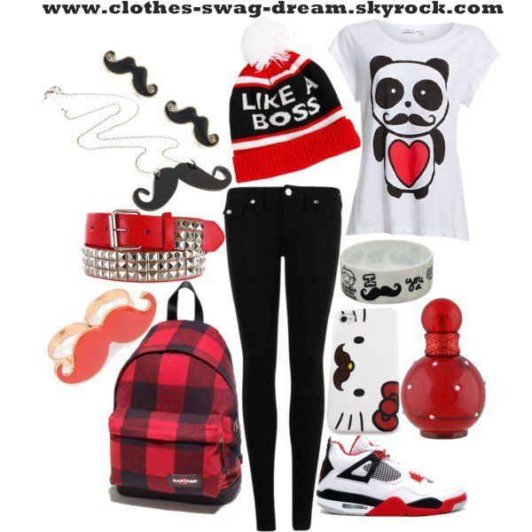 polyvore outfits for teenage girls swag google search