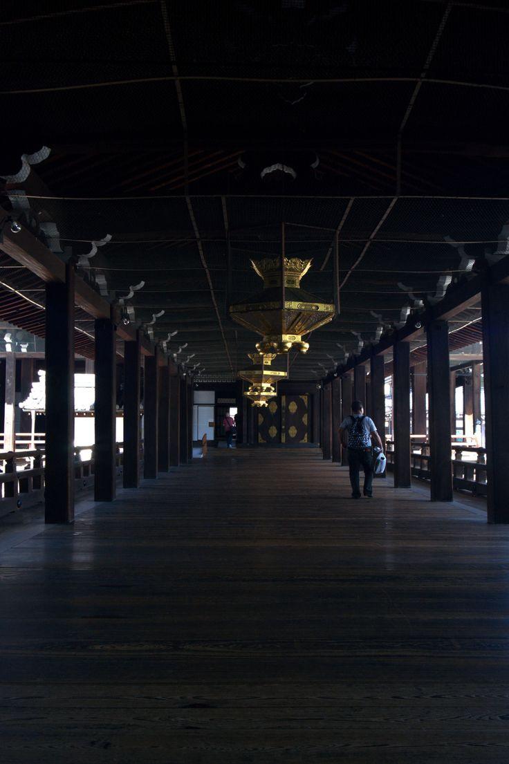 Nishi Honganji (temple) Japan by Magnus