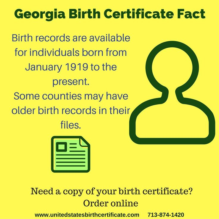 Did you know this about Georgia Birth Certificates? Need a replacement? Order online now!