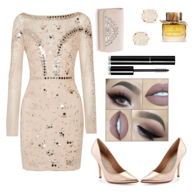 """""""Untitled #5"""" by vede-andreea on Polyvore featuring beauty, Temperley London, Charles David, Kendra Scott, Burberry and Chanel"""