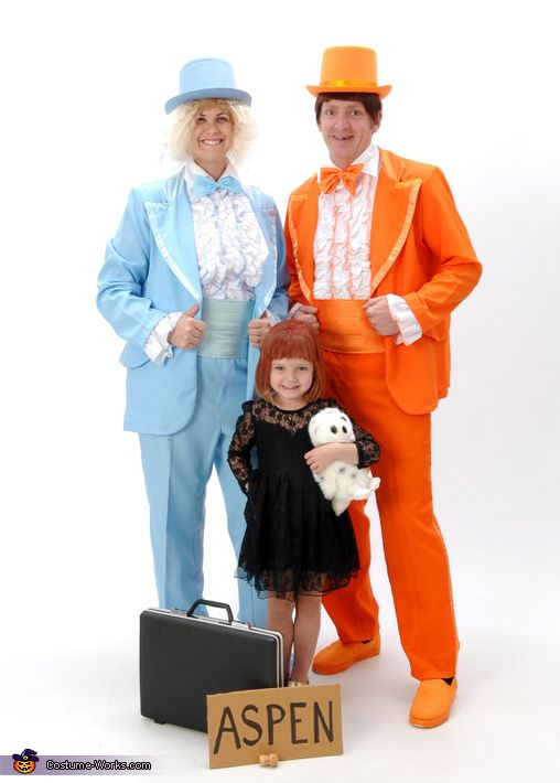 dumb and dumber family costume - Family Halloween Costumes For 4