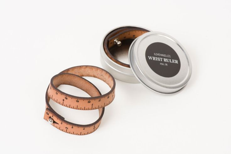 For an efficient measuring tool on the go, the Wrist Ruler