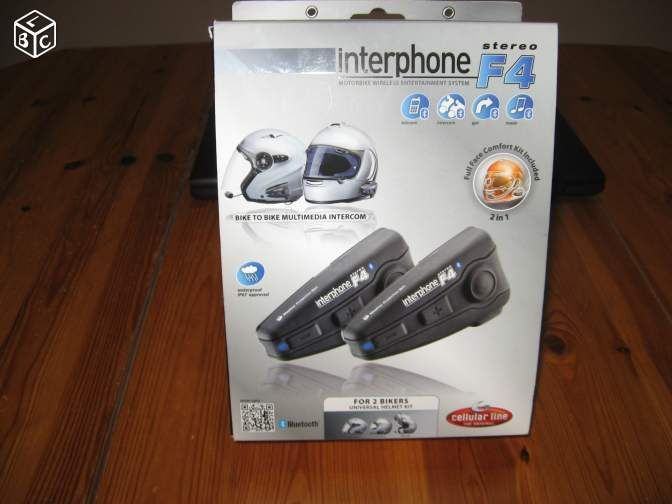 Interphone cellular Line F4 Equipement Moto Bouches-du-Rhône - leboncoin.fr