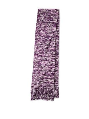 80% OFF Onassis Men's Horizontal Rib Scarf (Purple Shades)