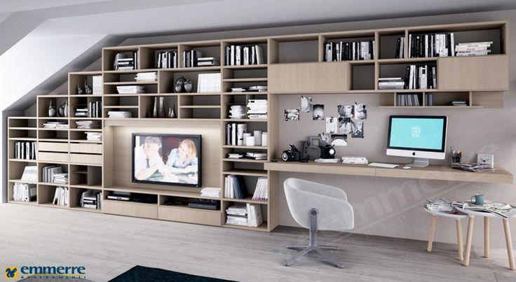 Librerie emmerre arredamenti srl arredamento roma for Arredamenti ufficio roma