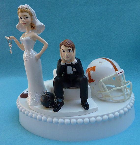 split shank engagement rings Wedding Cake Topper University of Tennessee Volunteers YES