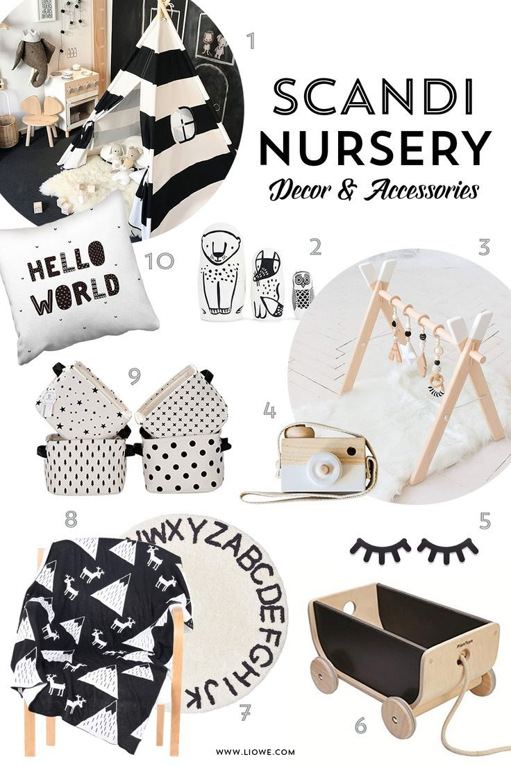 Scandinavian Nursery Decor And Accessories A Curated Collection From Amazo 2019 Scandinavian Baby Room Scandinavian Nursery Decor Nursery Inspiration Neutral