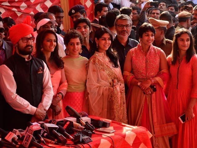 Aamir Khan Was Special Guest At Wrestler Geeta Phogat's Wedding