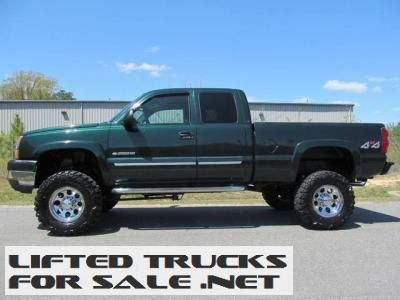 2003 chevrolet silverado 2500 ls lifted truck lifted chevy trucks for sale pinterest. Black Bedroom Furniture Sets. Home Design Ideas