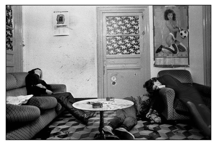 Palermo, 1982. Nerina faceva la prostituta e si era messa anche a trafficare con la droga. La mafia l'ha uccisa perchè lei non aveva rispettato le sue regole © Letizia Battaglia